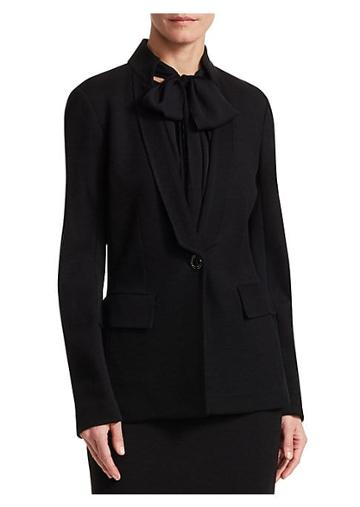 St. John Pique Milano Knit Jacket