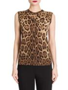 Dolce & Gabbana Leopard-print Shell