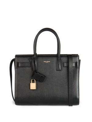 Saint Laurent Saint Laurent Nano Sac De Jour Tote Bag