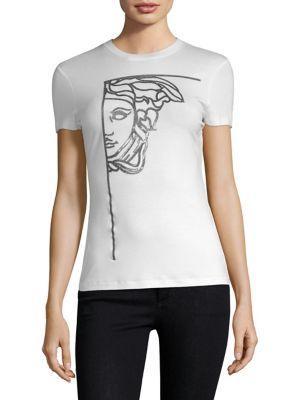 Versace Collection Medusa Print Tee