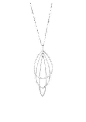 Adriana Orsini Eclectic Cubic Zirconia Layered Pendant Necklace