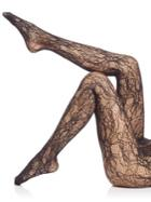 Wolford Floral Lace Net Tights