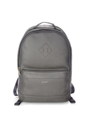 Hook + Albert Grain Leather Expansion Backpack