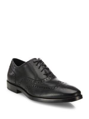 Cole Haan Brogue Wingtip Leather Oxfords
