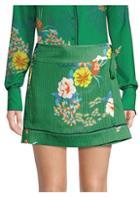 Alexis Lucia Print Wrap Skirt