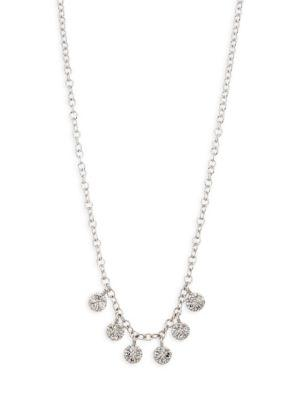 Meira T Diamond Discs Necklace