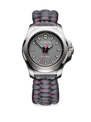 Victorinox Swiss Army I.n.o.x. Analog Paracord Bracelet Watch