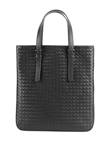 Bottega Veneta Woven Leather Slim Tote