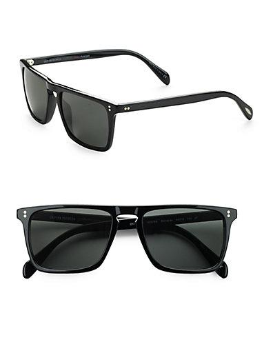 Oliver Peoples Bernardo Square Sunglasses/black