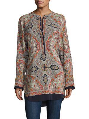 Theory Maraseille Premont Silk Tunic