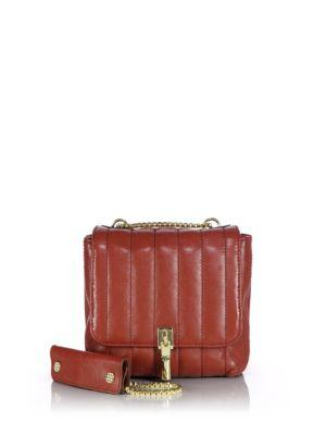 Elizabeth And James Cynnie Mini Quilted Leather Shoulder Bag