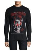 The Kooples Long Sleeve Graphic Skull Tee