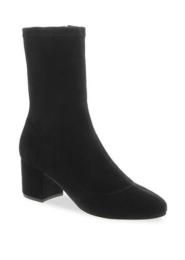 Schutz Stretch Suede Ankle Boots