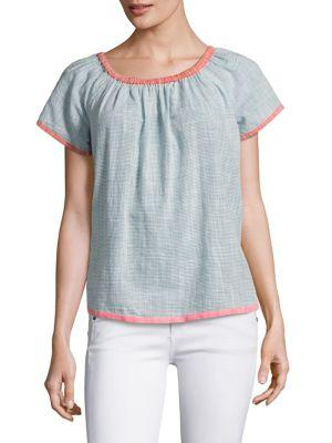 Joie Soft Joie Mikina Striped Top