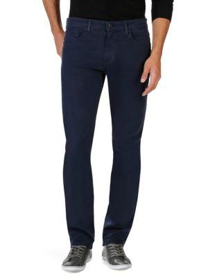 Paige Federal Slim-fit Twill Pants