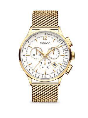 Movado Movado Circa Stainless Steel Chronograph Watch