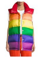 Burberry Rainbow Puffer Vest