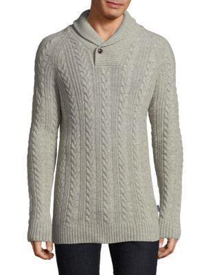 Barbour Cableknit Wool Sweater