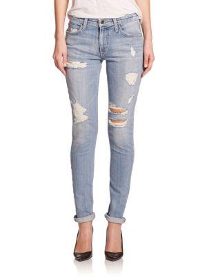 Joe's The Billie Distressed Skinny Jeans