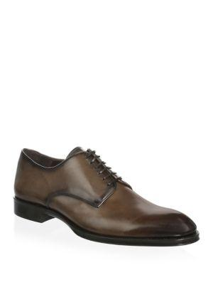 To Boot New York Almond Toe Leather Oxfords