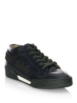 Stella Mccartney Faux-leather Wedge Sneakers