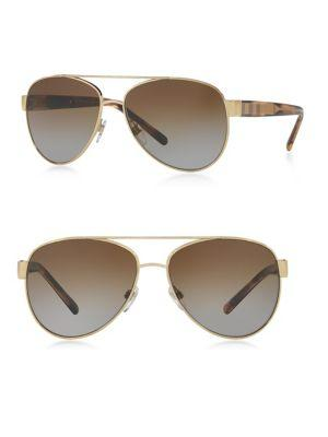 Burberry 60mm Square Sunglasses
