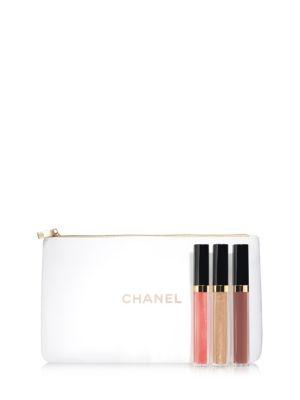 Chanel Rouge Coco Gloss Nudes Set
