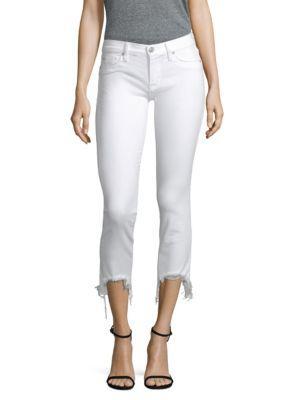 Hudson Jeans Tally Raw Hem Skinny Jean