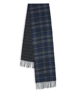 Polo Ralph Lauren Reversible Plaid Driver Scarf