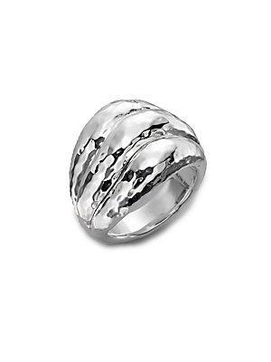 Ippolita Glamazon Sterling Silver Wave Ring