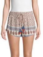 Raga Printed Drawstring Shorts
