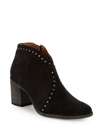 Gianvito Rossi Nora Studded Ankle Boots