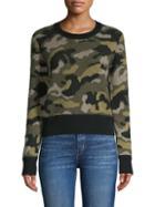 Naadam Camo Cashmere Sweater