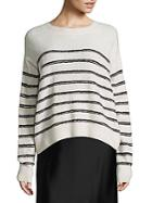 Vince Textured Striped Pullover