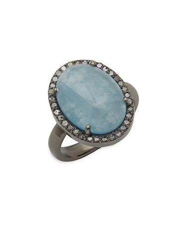 Adornia Fine Jewelry Aquamarine