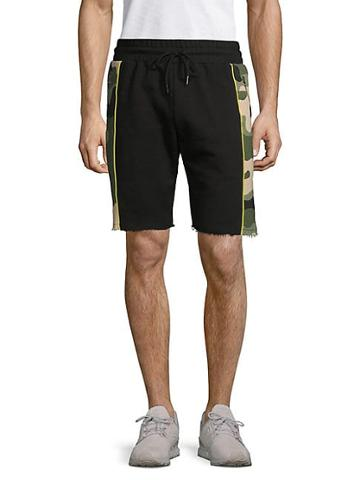 Russell Park Drawstring Cotton Blend Shorts
