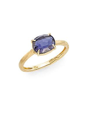 Marco Bicego Murano Iolite & 18k Yellow Gold Ring