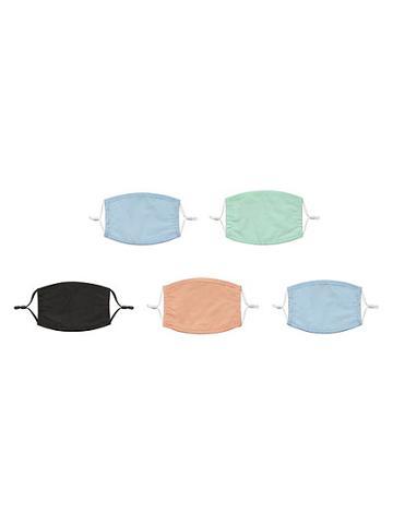 Posh Masks Kid's 5-pack Assorted Face Mask Set