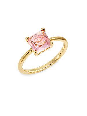 Ippolita Rock Candy Pink Tourmaline & 18k Yellow Gold Ring