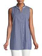 Lafayette 148 New York Eloise Sleeveless Blouse