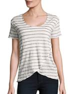Chaser Linen Jersey Top