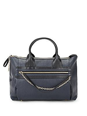 See By Chlo Zoey Leather Satchel