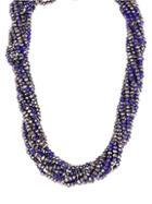 Saachi Multi-strand Short Bead Necklace