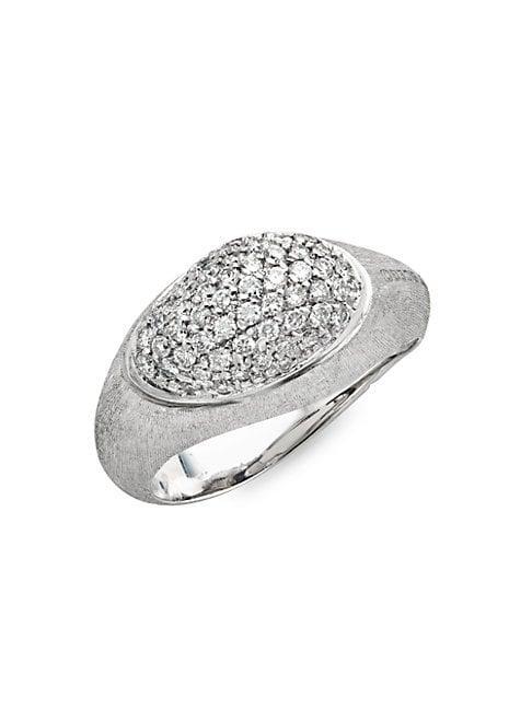Marco Bicego 18k White Gold & Diamond Ring