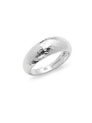 Gurhan Hammered Sterling Silver Ring