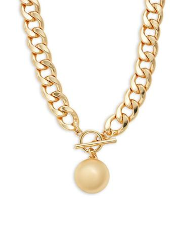 Ava & Aiden Thick Curb Chain Necklace