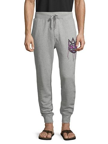 Cult Of Individuality Drawstring Cotton Sweatpants