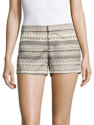 Parker Printed Textured Shorts