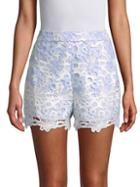 English Factory Floral Embroidered Shorts