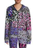 Versace Printed Hooded Jacket